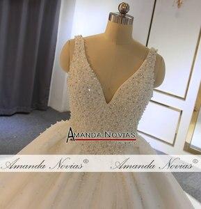 Image 2 - Vestido de novia con perlas, pedido al cliente