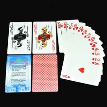 1Pcs Poker Waterproof Wear Frosted Plastic Cards