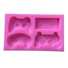 Grappige Joystick Shape Silicone Mold DIY Resin Charms Gereedschap Handgemaakte Game Controller Mallen Hars Gamer Decor Sieraden Cabochons