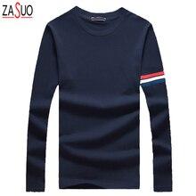HOT SALE Autumn 2016 New Men's Printing Fashion Leisure Cotton Long Sleeve Slim T-shirt Men's O-Neck T-shirt YX217