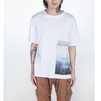 2018 Summer New Print T Shirt Men Loose Fit Fashion 100 Cotton Vintage T Shirts High