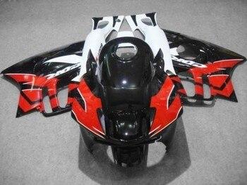 L36-Custom OEM motorcycle fairings for  CBR600 F3 1995 1996 CBR 600 F3 CBR600F3 96 95 red white black fairing kits & tank