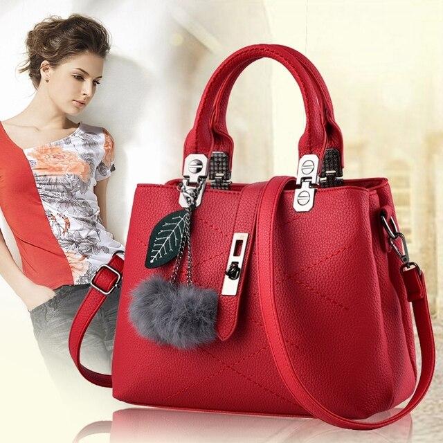 678ee8b644432 Famous Designer Brand Bags Women Leather Handbags 2017 NEW Fashion Luxury  Ladies Hand Bags Purse Fashion Shoulder Bags Bolsa Sac