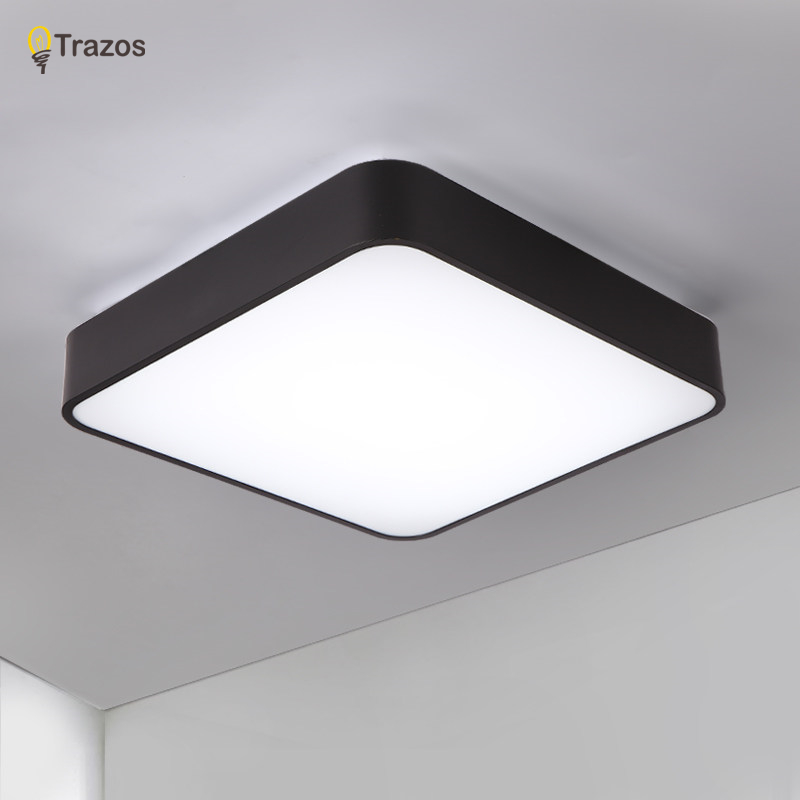 2018 surface mounted modern led ceiling lights for living room light fixture indoor lighting decorative lampshade Free Shipping surface mounted ceiling lights for bedroom fixture lighting led light living room ceiling modern home decorative lampshade lamp
