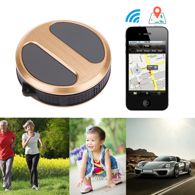 US $29 27 19% OFF|Mini Waterproof IP54 Dustproof GPS Tracker Locator T8  With Google GPS tracking suit for children/seniors/pet/vehicle/luggage -in  GPS