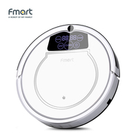 Fmart E 550W Robot Vacuum Cleaner Home Cleaning Appliances 3 In 1 Suction Sweeper Mop One Machine, LED Display