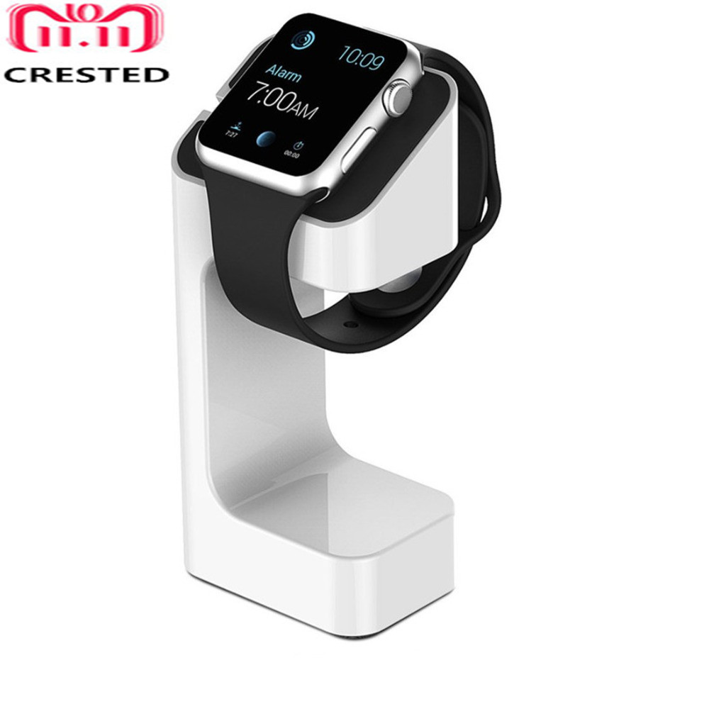 Charger Stand For Apple Watch Band 4 3 5 44mm 40mm IWatch Strap 42mm/38mm  Charger Station Plastic Bracket Watch Accessories