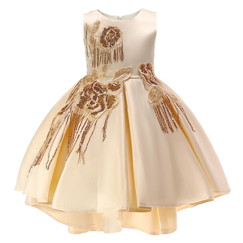 Retail Children   Girl   Tassel Party   Dress     Flower     Girl     Dresses   Children   Girl     Dress   For Wedding First Communion   Dresses   T5035