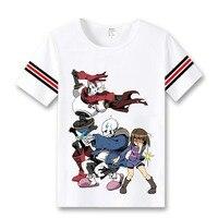 Undertale Cosplay T Shirt Anime Game Skeleton Brothers T Shirt Fashion Men Women Tees