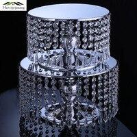 Flower Vases Table Crystal Vase Cake Stand Fruit Tray Flower Pot Dessert Decoration for Home/Wedding Corridor Decoration G152
