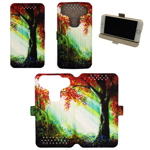 Universal Phone Cover Case for Zte N9519 Warp 7 Case Custom images SHU
