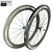 BIKEDOC Chinese Carbon Wheels 700c Road Bike Carbon Wheelset 30mm 38mm 50mm 60mm 88mm Bicycle Wheels