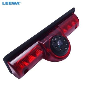 LEEWA Car LED Brake Light IR Rear View Camera For RAM Promaster Cargos Van Reversing Park Camera #CA5372