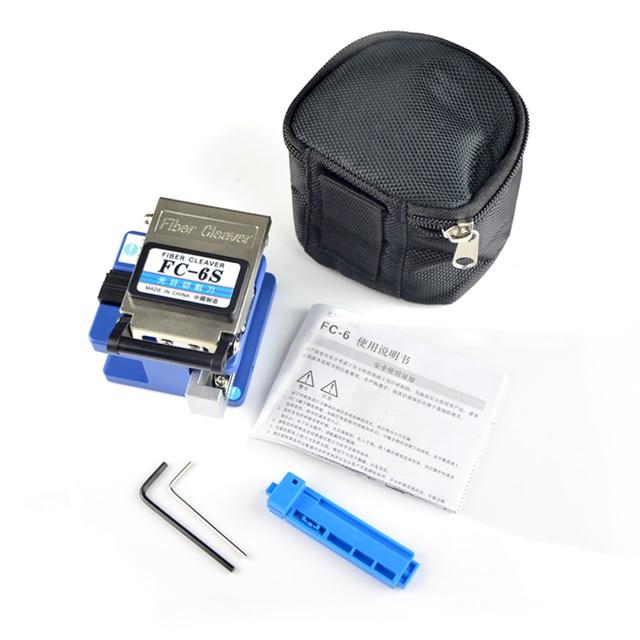 Metal fiber cleaver FTTH FC-6S Optic Fiber Cleaver Fiber Optics Cutter tools 250um -900um fiber cleaver tool