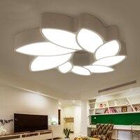 Светодиодный потолочный светильник простой современный цветок Стиль Гостиная свет творческая индивидуальность Спальня свет исследование