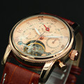 Relojes MG. ORKINA Men's Watches Tourbillon Auto Mechanical Date Display Male Clock montre homme marque de luxe
