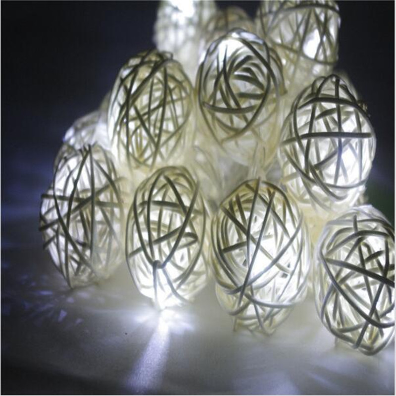 10 Latterns LED 1.5M Funlife Wedding Party Cadena Luces tejidas a - Iluminación de vacaciones - foto 5