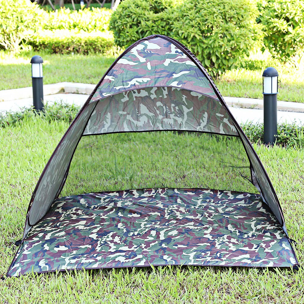Outdoor Sun Shelter Automatic Foldable UV Protection Pop Up Instant Quick Cabana Beach Tent Portable for  sc 1 st  AliExpress.com & Online Buy Wholesale portable shelter camping from China portable ...