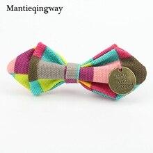 Mantieqingway бабочкой для Обувь для мальчиков Регулируемая самостоятельной Bow Галстуки дети мальчик Галстуки Интимные аксессуары Высокое качество для торжеств с галстуком подарки