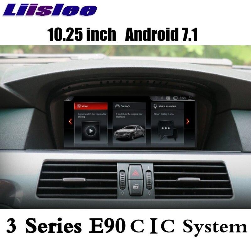 LiisLee для BMW 3 E90 E91 E92 E93 2009 ~ 2013 для CIC Evo CarPlay адаптер автомобильный мультимедийный плеер gps аудио радионавигации NAVI