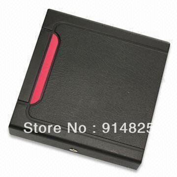 DWE CC RF Free Shipping +top selling cheap EM rfid reader + 125khz+ wiegand 26 output format access control + waterproof