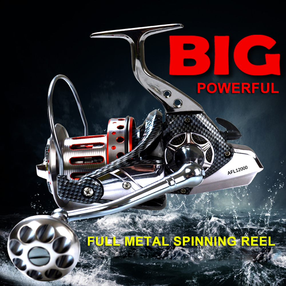 8000 9000 10000 12000 Series 10 1BB Ball Bearings 4 7 1 Spinning Fishing Reel Tackle