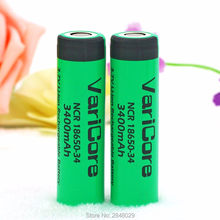 2PC. VariCore original NCR18650-34 3.7 The 3400 mAh battery Lthium Industrial equipment used Battery(China)