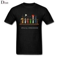 Muppet Science Tee Shirt For Men Tailored Short Sleeve Crewneck Cotton XXXL Team T Shirts