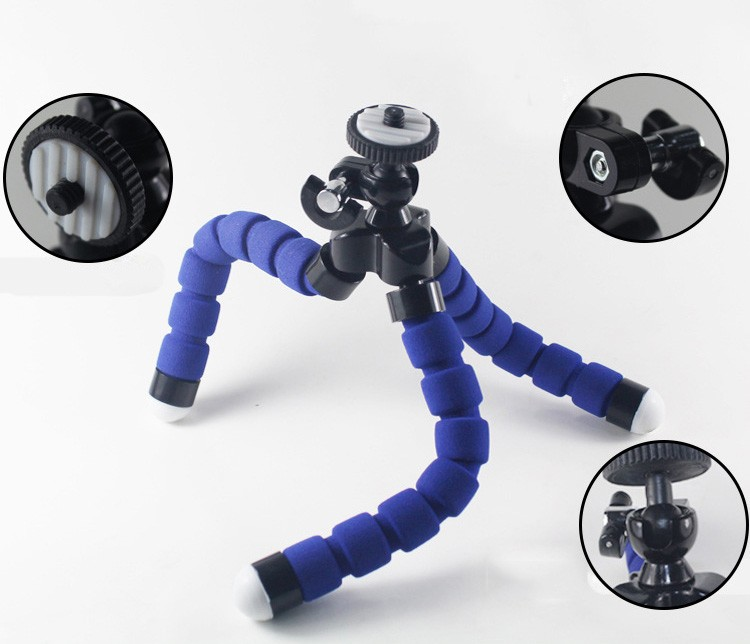 Go Pro Fleksibilna noga Mini stativ za Go pro Digitalni telefon i - Kamera i foto - Foto 5