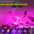 E27 15W 21W 27W 36W 45W 54W Full Spectrum Led Lights Growing Plants For Hydroponics System Growing Plant Led