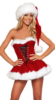 2016 Christmas Service Sexy Lingerie Cosplay Costume DS Nightclub Ropa Interior Mujer Sexy Erotica Lingerie Exotic