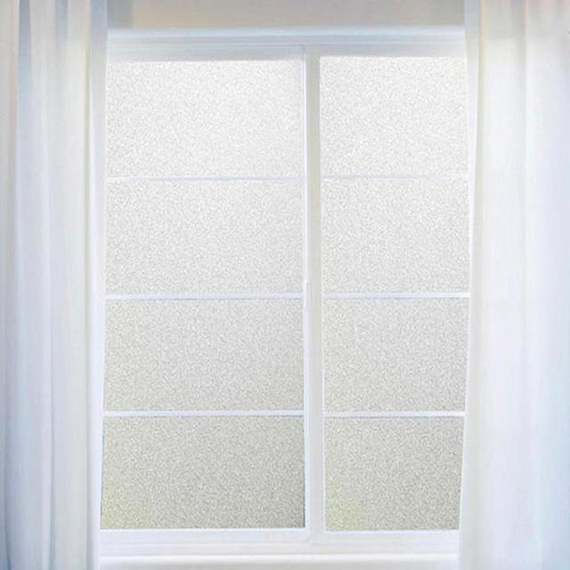Beau 200/300x60CM Luxury Self Adhesive Glass Sticker Flower Window Films Shower  Door Window Privacy PVC