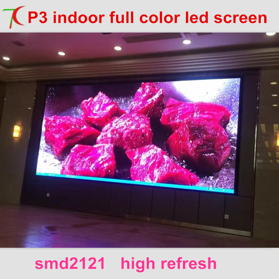 Free Installation Method of P3 full color led video wall for meeting room,multi-media classroom ...