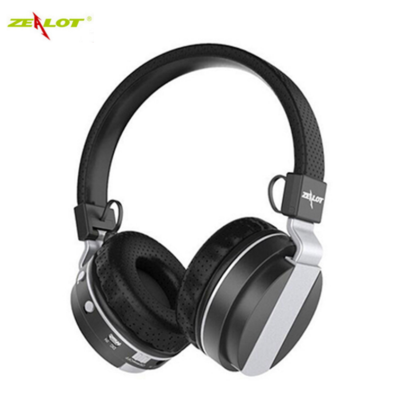 ZEALOT B17 Headphones Earphones Wireless Bluetooth Headset Support Hands-free TF slot  Radio Stereo with MIC for phone xiaomi электростандарт точечный светильник 2020 mr16 ch gr хром зеленый