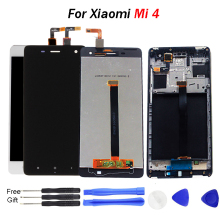 For Display XIAOMI Mi4 LCD Touch Screen with Frame Replace Xiaomi Mi 4 M4 5.0 1920x1080