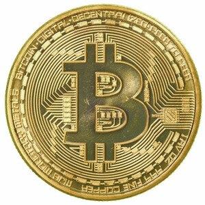Коллекционная монета Биткоин с золотым и серебряным покрытием, BTC, Коллекционная Коллекция монет, подарок, новинка, Прямая поставка