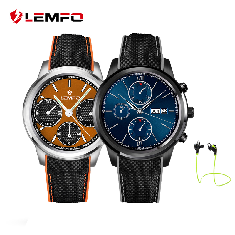 LEMFO LEM5 Smart Watch Phone Android 5.1 MTK6580 Quad Core 1GB+8GB Pedometer Heart Rate Monitor Smartwatch for Android IOS Phone i3 android 5 1 smart watch for android phone sync sms pedometer heart rate monitor wifi gps smartwatch silicone sport wristband