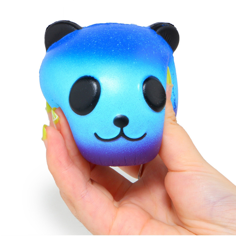 Squeeze-Toy Jumbo Squishy Panda Stress Reliever Colorful Galaxy Fun Gift Slow Rising img4