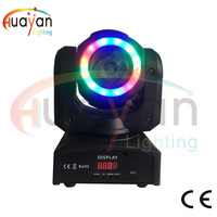 New Mini 60W LED Mini Moving Head Light DJ Beam Wash Lighting powerful Beam Wash 2in1 Moving Head light for Club DJ Party