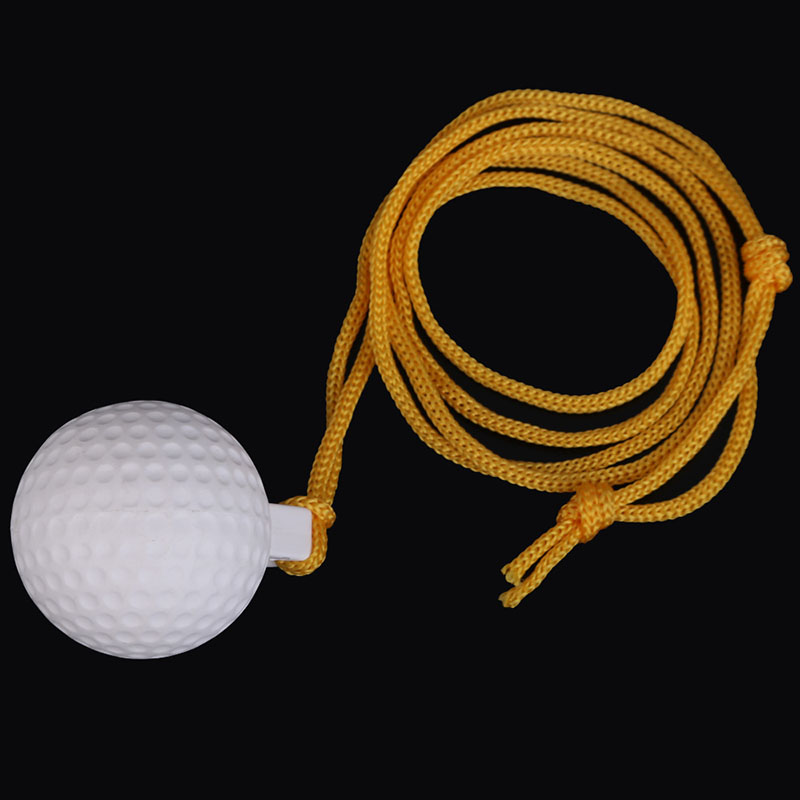 New Arrivals Pocket Durable Reuseable Golf Swing Practice Solid Ball With String Gift For Beginner Golf Training Aids Equipment