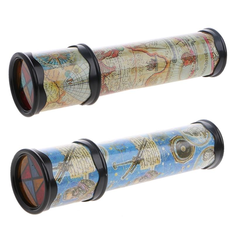 21cm Rotation enfants kaléidoscope enfants enfant en bas âge Science éducative développement jouet cadeau