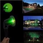 projetor estrela vermelho verde firefly holofotes jardim
