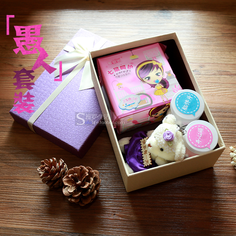 Novelty gift girlfriend send small gifts friends and wife