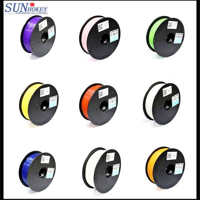 2016!16 Kinds of Color Good Quality Factory Price 1.75mm ABS/PLA Filament/Plastic Rod for MakerBot/RepRap/UP/Mendel/Delta/3D Pen