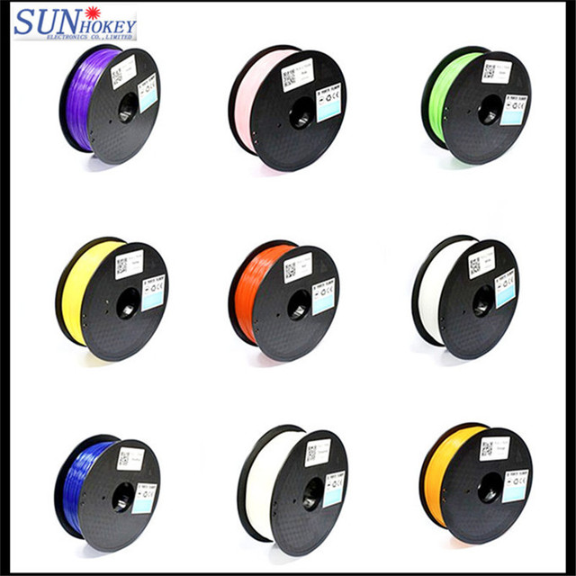 Sunhokey Good Quality Factory Price 1.75mm ABS/PLA 3D Printer Filament/Plastic Rod for 3D Printer & 3D Pen