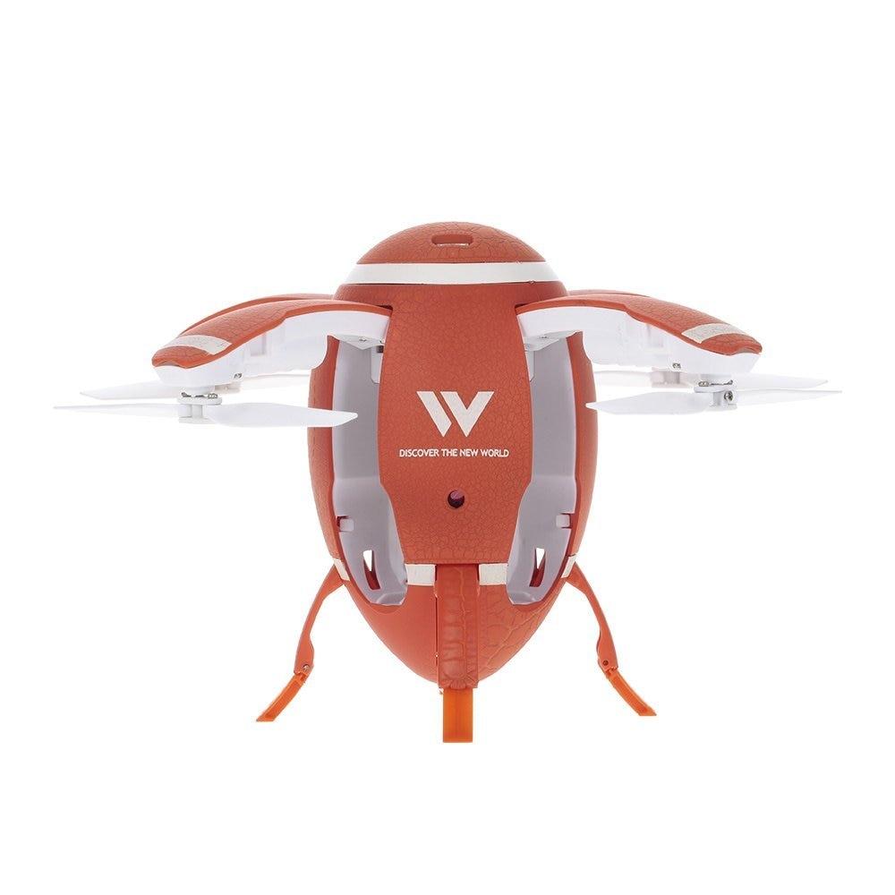 Foldable Flying Egg Drone w/ Selfie option & Altitude Hold , 3D Flip 1