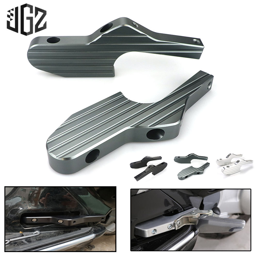 Motorcycle CNC Passenger Foot Peg Joint Back Shift Extensions Bracket for Vespa Piaggio GT 125 200