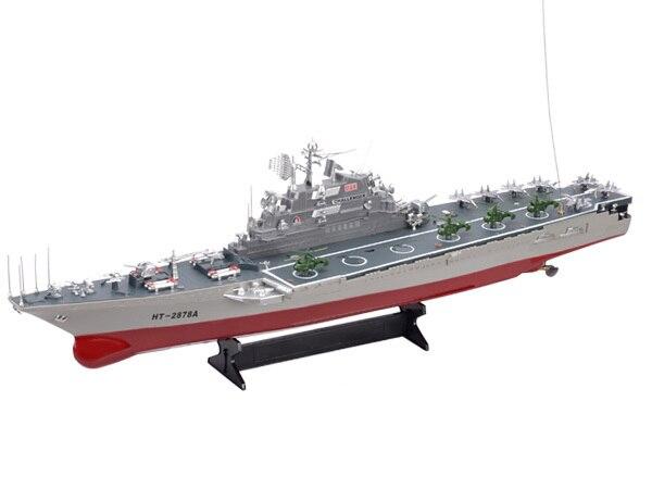 Original Hengtai HT2878A 2878A grand modèle de porte-avions radiocommandé pour bateau télécommandé pour garçons