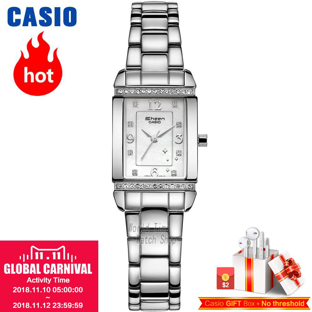 цена на Casio watch Fritillaria diamond square plate SHN-4016D-7A