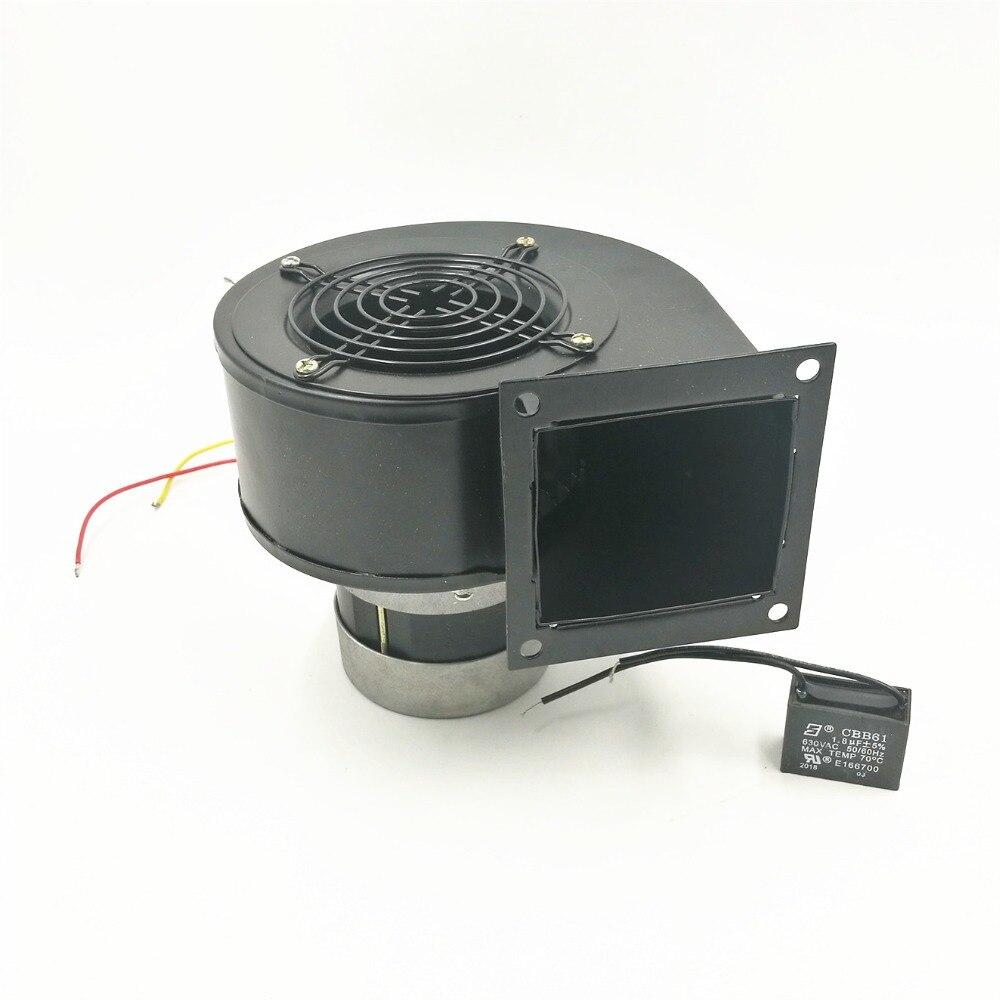 100FLJ2 квадратный выхлоп В 220 в 65 Вт медный мотор Высокая температура Изоляция духовки вентилятор охлаждения центробежный вентилятор 2700r тепл...
